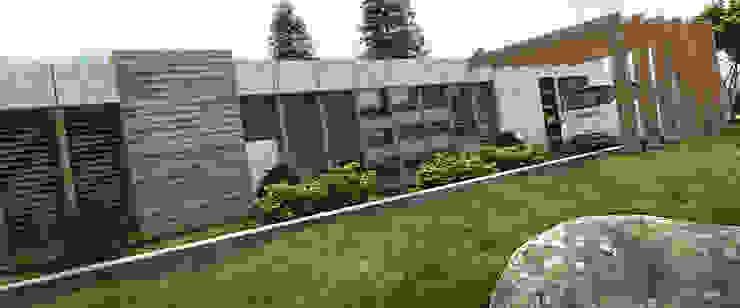 AREA DE AMPLIACION Y PLANTACION Casas de estilo minimalista de Arq.AngelMedina+ Minimalista Concreto