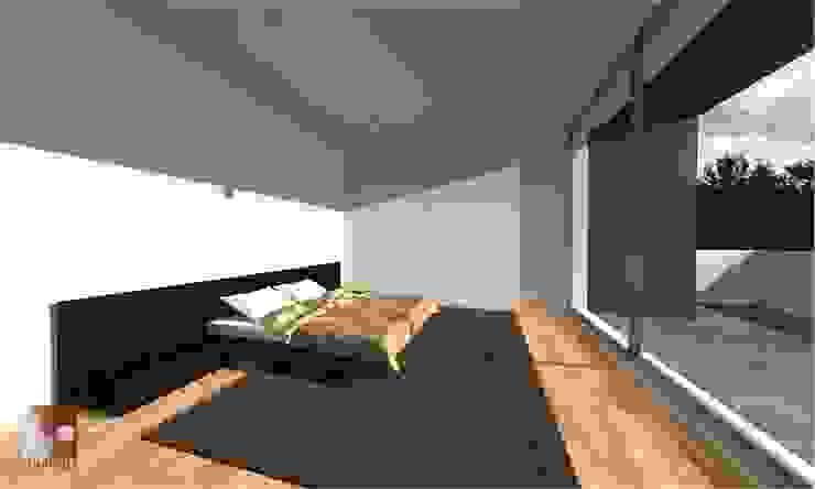interior por LouProj - arquitectura e engenharia lda Moderno