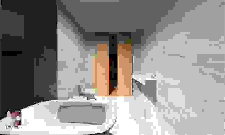 is por LouProj - arquitectura e engenharia lda Moderno