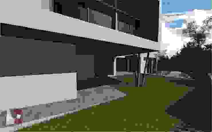 exterior por LouProj - arquitectura e engenharia lda Moderno