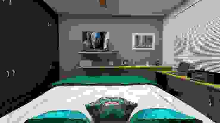 Modern Bedroom by MV Arquitetura e Design Modern