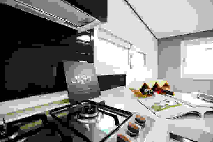 전원주택으로도 손색없는 다가구주택 [경기도 성남 시흥] 모던스타일 주방 by 한글주택(주) 모던