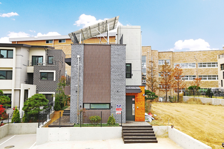 Houses by 한글주택(주), Modern