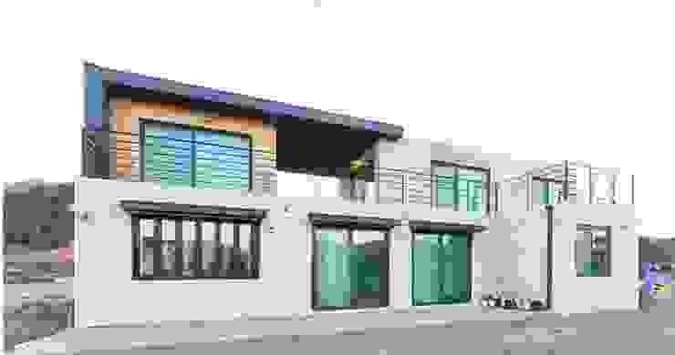 아이가 행복한 전원주택 [경남 거제도 지세포리] 모던스타일 주택 by 한글주택(주) 모던