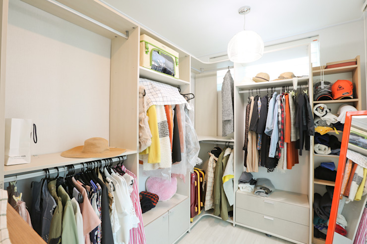 Modern style dressing rooms by 한글주택(주) Modern