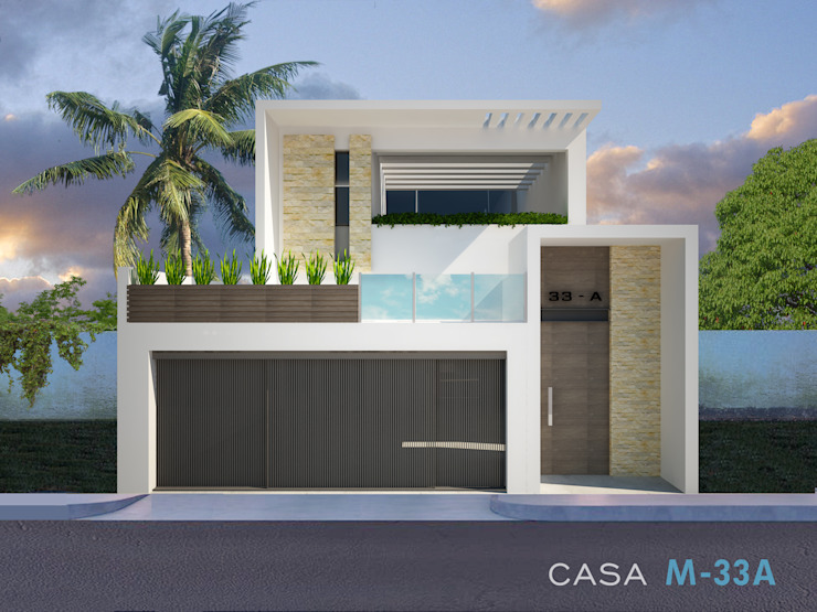 Collage de proyectos de Constructora Asvial S.A de C.V.