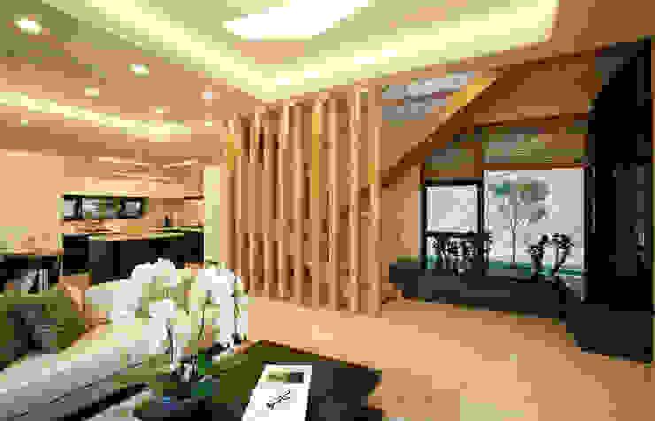 Salones modernos de 한글주택(주) Moderno