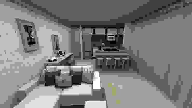 MV Arquitetura e Design Ruang Makan Modern
