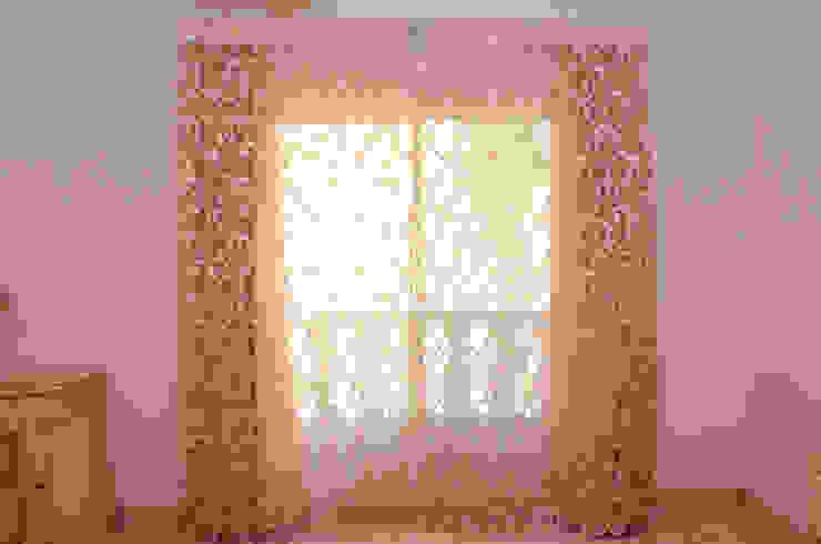 Tania Mariani Architecture & Interiors BedroomTextiles Tekstil Beige