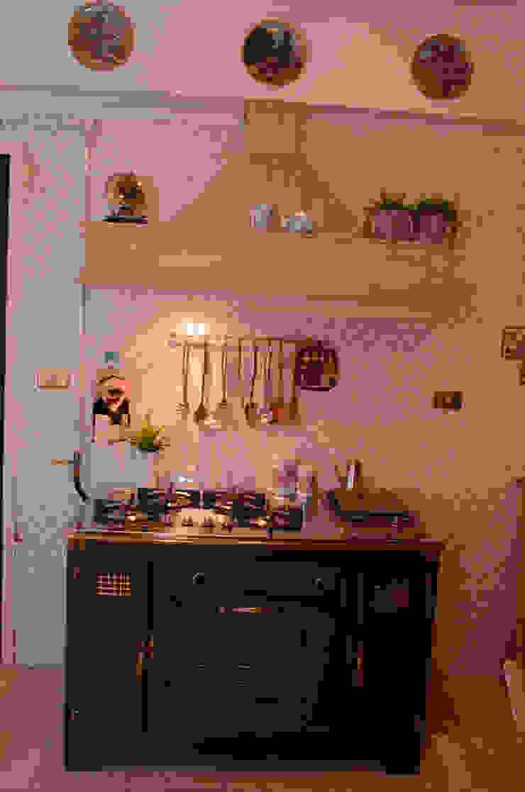 Tania Mariani Architecture & Interiors Dapur Klasik Kayu Beige