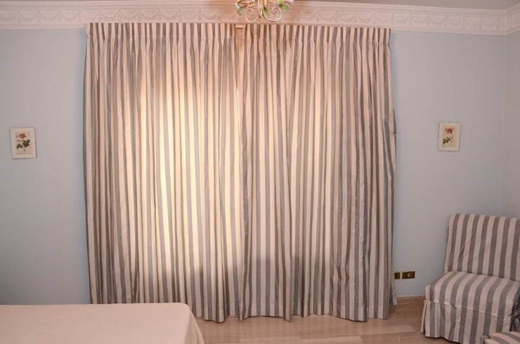 Tania Mariani Architecture & Interiors BedroomTextiles Tekstil Grey