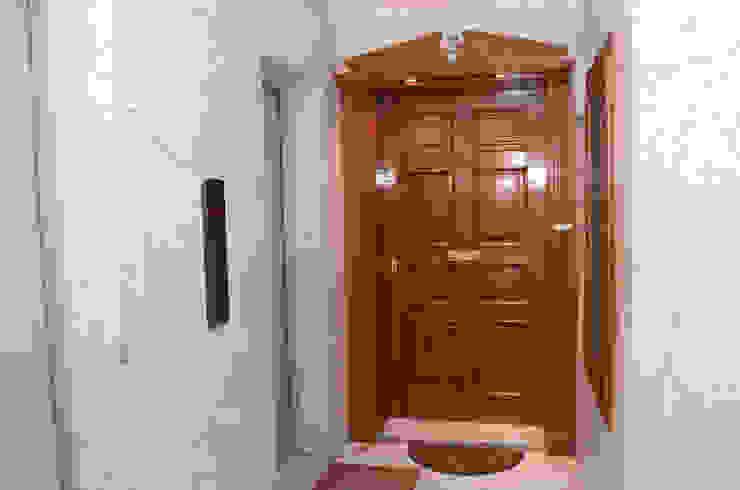 Tania Mariani Architecture & Interiors Koridor & Tangga Klasik Kayu Wood effect