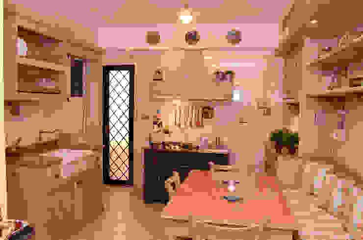 Tania Mariani Architecture & Interiors Dapur Klasik Kayu Multicolored