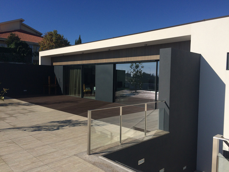 Casa CS Casas minimalistas por BLK-Porto Arquitectura Minimalista