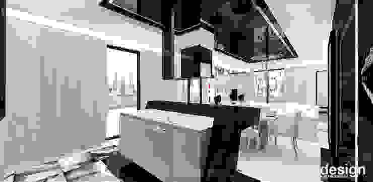 LOOK #69 | Apartament Eklektyczna kuchnia od ARTDESIGN architektura wnętrz Eklektyczny
