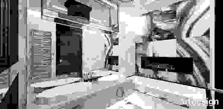 LOOK #69 | Apartament Eklektyczna łazienka od ARTDESIGN architektura wnętrz Eklektyczny