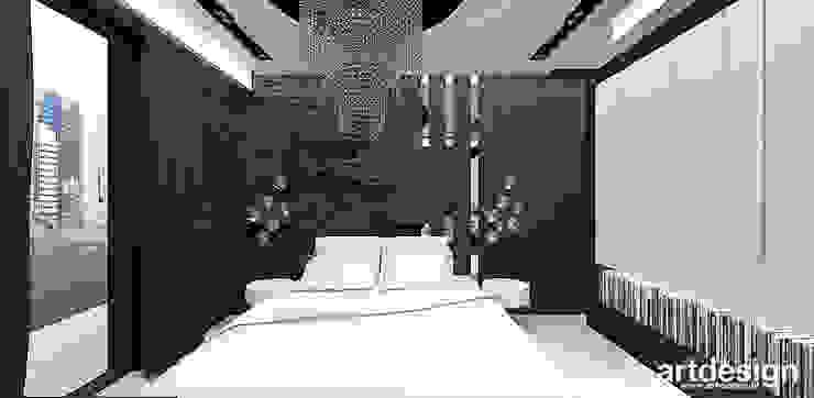 LOOK #69 | Apartament Eklektyczna sypialnia od ARTDESIGN architektura wnętrz Eklektyczny