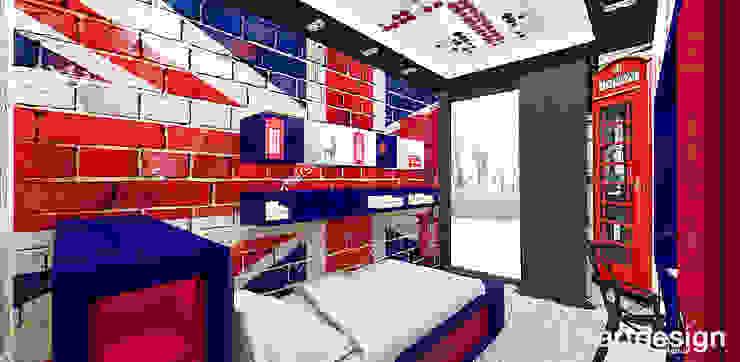 LOOK #69 | Apartament Eklektyczny pokój dziecięcy od ARTDESIGN architektura wnętrz Eklektyczny