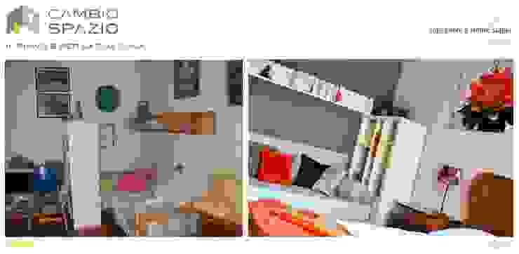 Sguardo d'insieme Camera da letto in stile classico di CAMBIOSPAZIO Classico