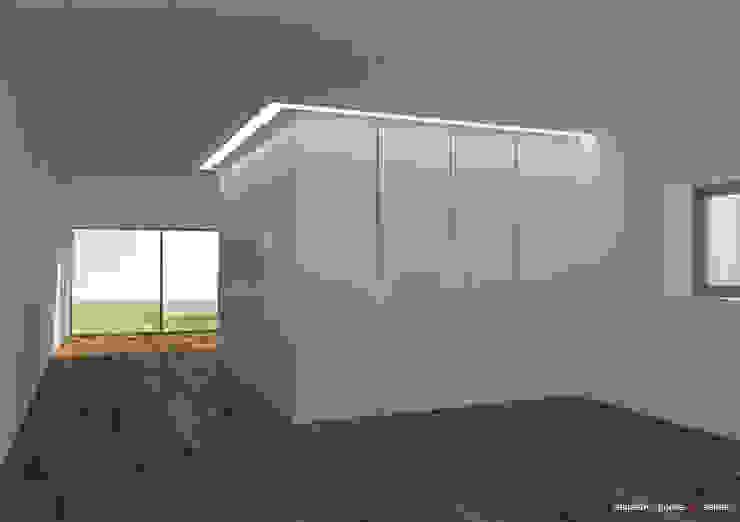 Casa Anipedro Espaços de trabalho minimalistas por nn.arq | arquitectos Minimalista