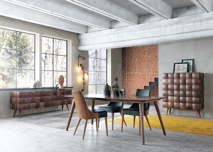 NILL'S FURNITURE DESIGN – Pralin Yemek Odası: modern tarz , Modern