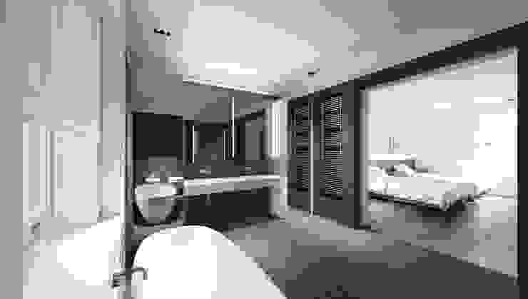 House in Notting Hill by Recent Spaces Salle de bain moderne par Recent Spaces Moderne Ardoise