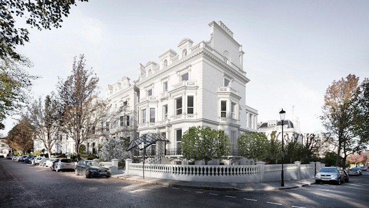 ​House in Notting Hill by Recent Spaces Classic style houses by Recent Spaces Classic Stone