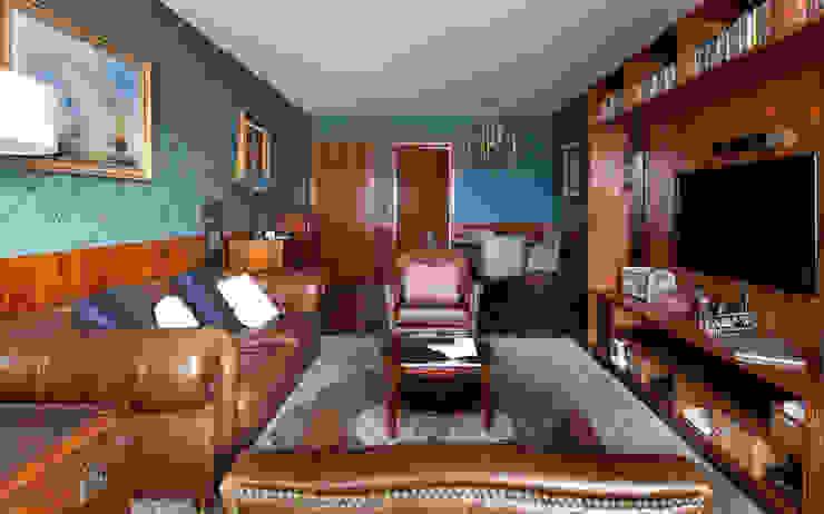 Sala INÁ Arquitetura Salas de estar clássicas