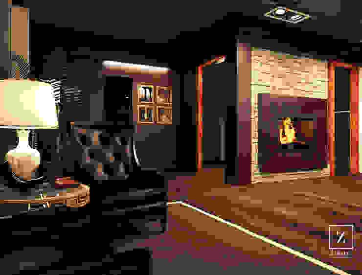 Geometra Alessandro Zanetti Rustic style bedroom