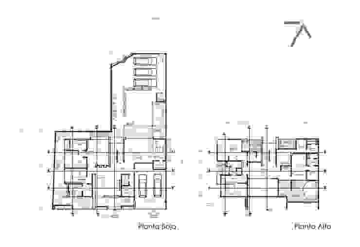 Modern houses by ZUM ARQUITECTURA Modern