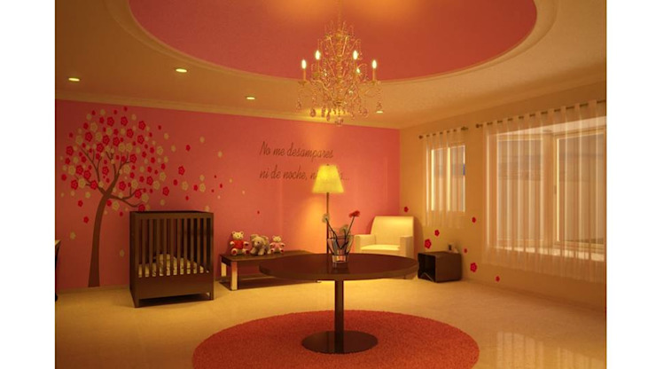 Modern nursery/kids room by Ar.Co Modern Ceramic
