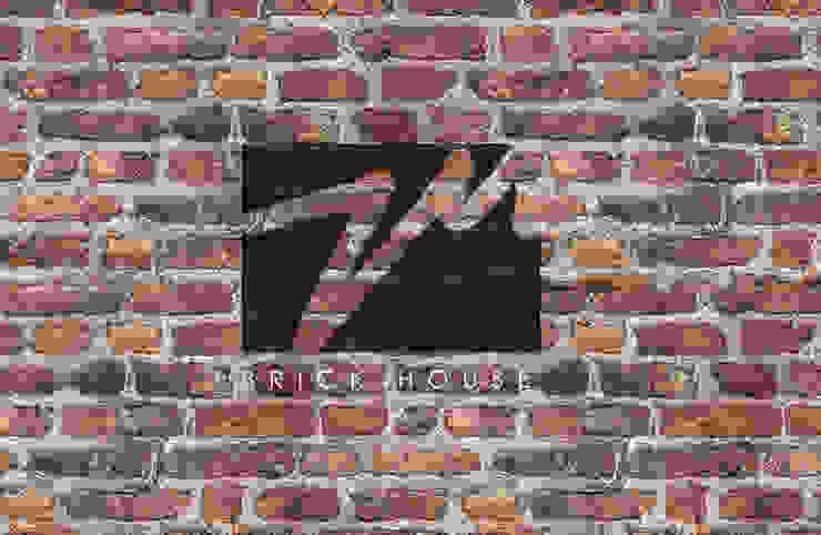 Brick House Casas mediterráneas de ZUM ARQUITECTURA Mediterráneo Ladrillos