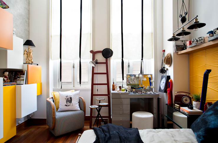 Moderne Schlafzimmer von EMMILIA CARDOSO DESIGNERS ASSOCIADOS Modern
