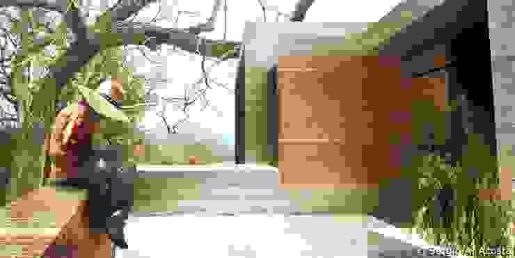PORTICO Balcones y terrazas modernos de 75 Arquitectura Moderno
