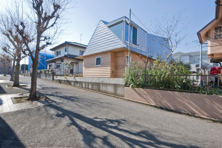 Eclectic style houses by 千田建築設計 Eclectic Wood Wood effect
