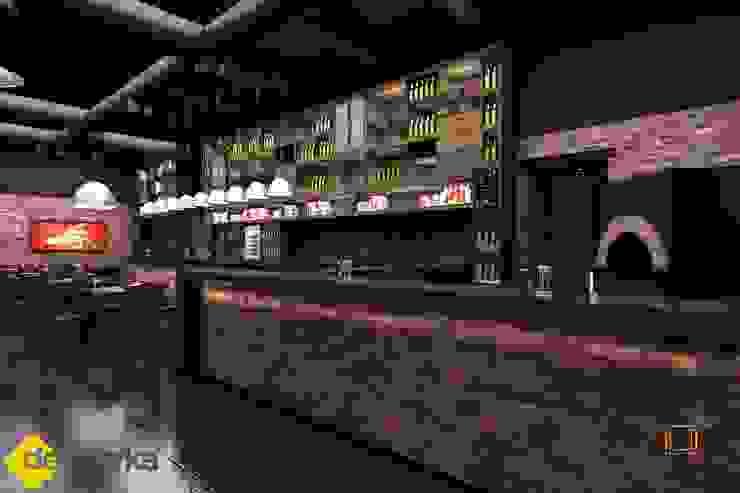 MOSKOVA LOUNGE 2012 Rustik Bar & Kulüpler DE MERKA MİMARLIK MÜH.MİM.DAN.HİZ.İNŞ.SAN.TİC.LTD.ŞTİ. Rustik