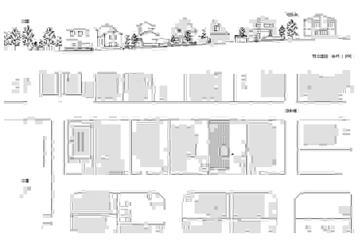Casas de estilo ecléctico de 千田建築設計 Ecléctico