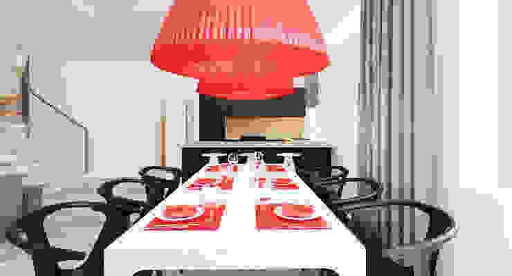 Salon domu katalogowego inaczej Nowoczesna kuchnia od Ale design Grzegorz Grzywacz Nowoczesny