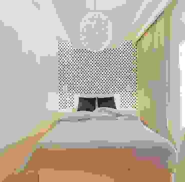 Sypialnia Minimalistyczna sypialnia od Ale design Grzegorz Grzywacz Minimalistyczny