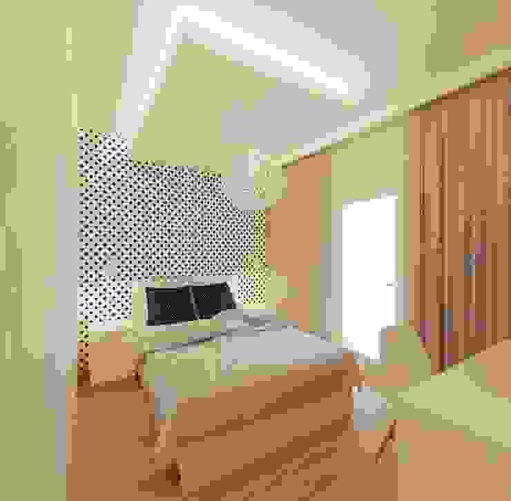 Chambre minimaliste par Ale design Grzegorz Grzywacz Minimaliste