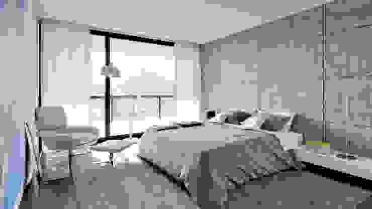 Dormitorios de estilo  de MyWay design,