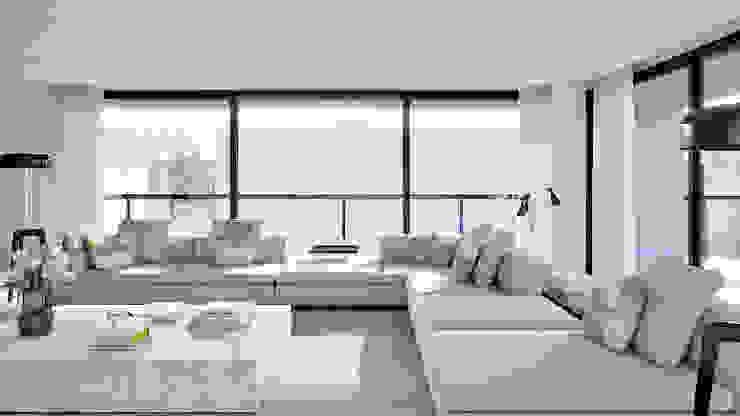 Moradia – Viana do Castelo , Portugal Salas de estar modernas por MyWay design Moderno