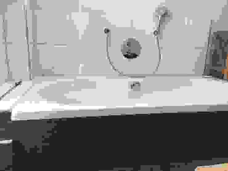 Neubau Einfamilienhaus Moderne Badezimmer von Göttling Fliesentechnik GmbH Modern