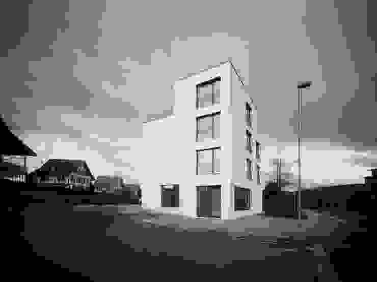 idA buehrer wuest architekten sia ag Rumah Modern White