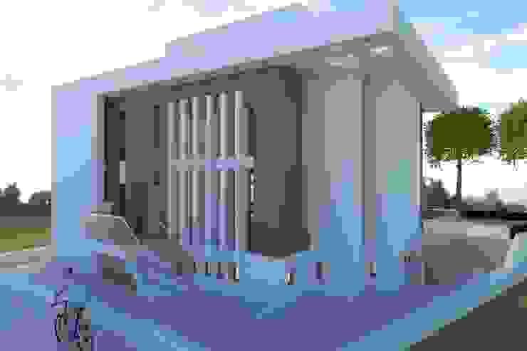 BOBI Casas de estilo moderno de DYOV STUDIO Arquitectura, Concepto Passivhaus Mediterraneo 653 77 38 06 Moderno