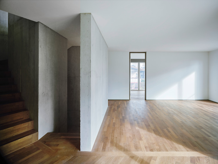 idA buehrer wuest architekten sia ag Ruang Keluarga Modern
