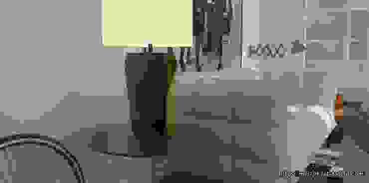 Furniture details Salones de estilo ecléctico de mm-3d Ecléctico
