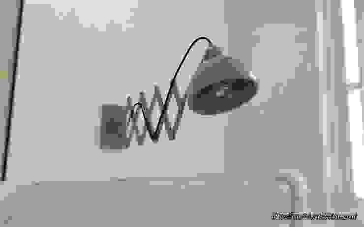 Wall lamp Salones de estilo ecléctico de mm-3d Ecléctico