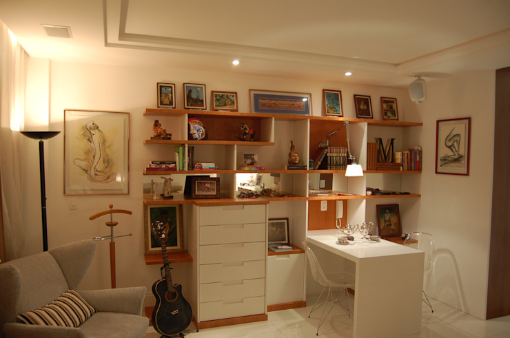 Emmilia Cardoso Designers Associados Camera da letto moderna