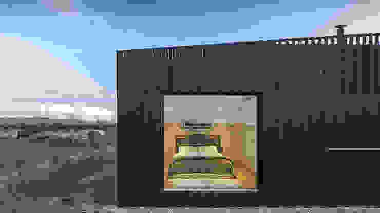 Modern houses by ecospace españa Modern Wood Wood effect